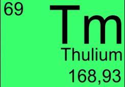 Thulium doped fibers
