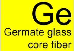 Germanate glass core fibers