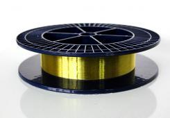 Polyimide-coated fibers