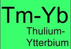 Thulium-Ytterbium codoped fibers