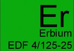 Erbium doped fiber EDF 4/125-25