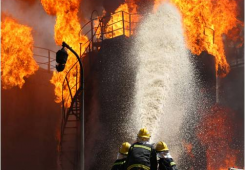 Fire detection system in petrochemical industry