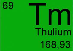 Thulium doped fiber TDF-SM-10/125