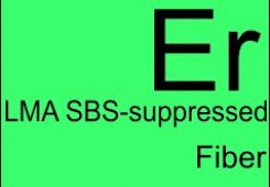 SBS-suppressed fibers