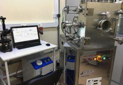 Установка магнетронного напыления