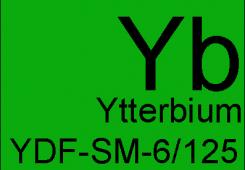 Ytterbium doped single mode fibers YDF-SM-6/125