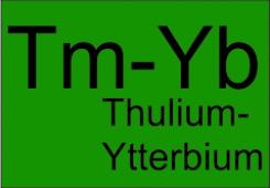 Thulium-Ytterbium double clad fibers TYDF-DC-10/125