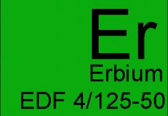 Легированное эрбием EDF 4/125-50