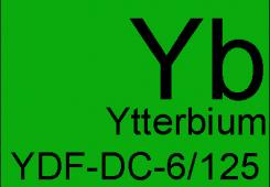 Легированное иттербием с двойной оболочкой YDF-DC-6/125