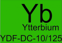 Ytterbium doped double clad fiber  YDF-DC-10/125