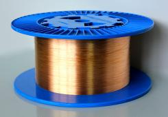Волоконные решетки Брэгга в оптическом волокне с медным покрытием